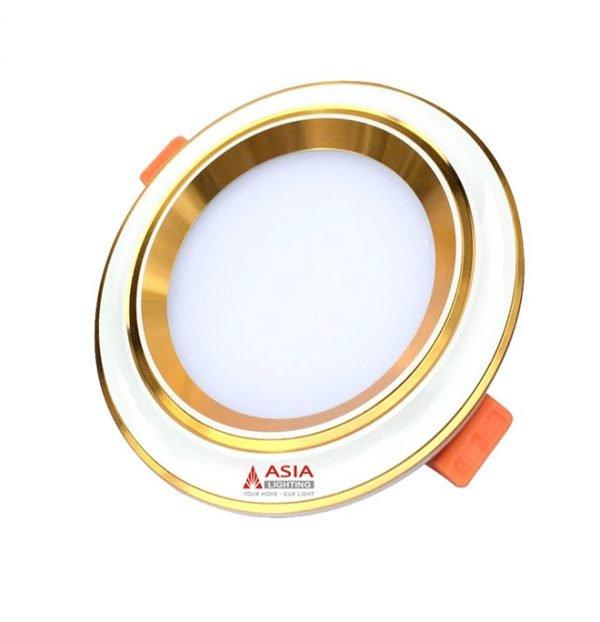 Đèn LED âm trần mặt lõm đổi màu MLV Asia
