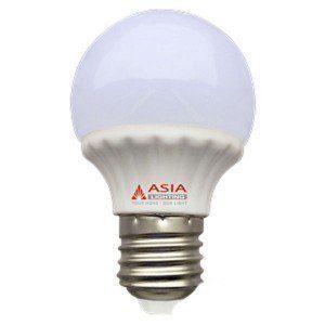 Đèn led tròn 4W E27 ĐT4 đổi màu Asia