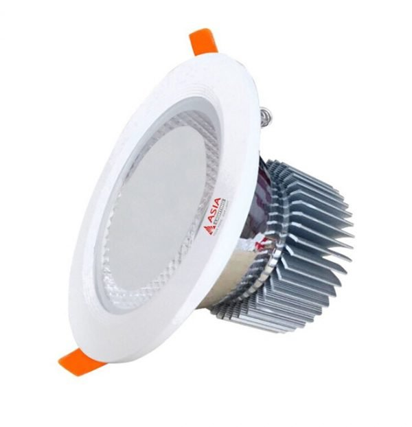 Đèn LED âm trần mặt kính MK Asia