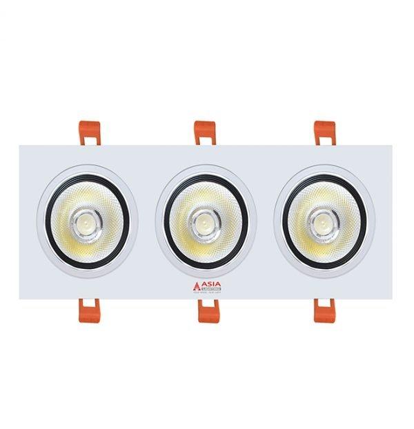 Đèn led âm trần mặt vuông 30W AV30 Asia
