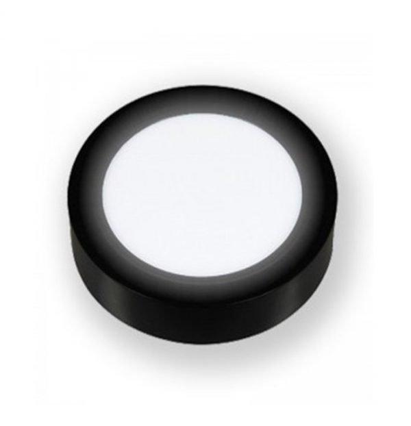 Đèn led ốp nổi tròn vỏ đen Asia PNOT