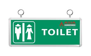 Đèn chỉ dẫn 3W Asia : Nhà vệ sinh