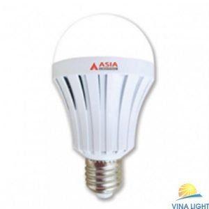Đèn LED bulb tròn tích điện 7W ASIA ĐT7E