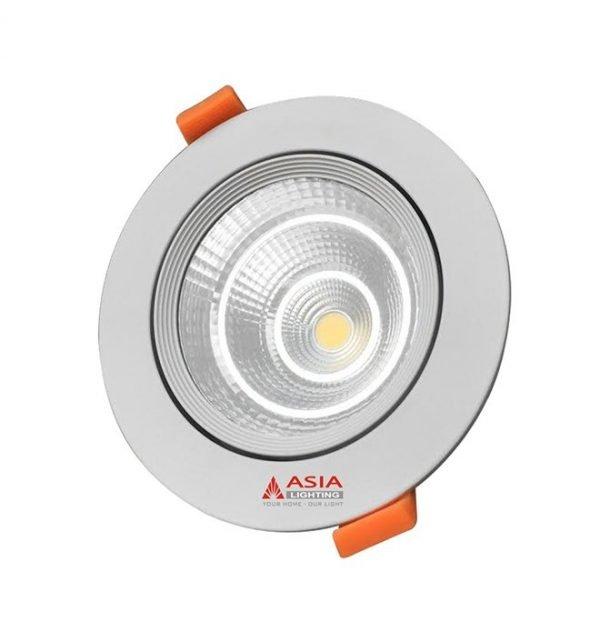 Đèn led âm trần mặt kính COB đổi màu MKC Asia