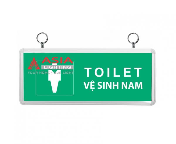 Đèn chỉ dẫn nhà vệ sinh nam 3W Asia