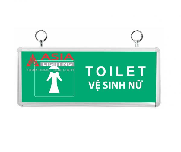 Đèn chỉ dẫn nhà vệ sinh nữ 3W Asia
