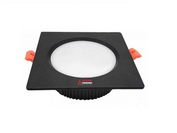 Đèn LED âm trần vuông mặt đen MTD Asia