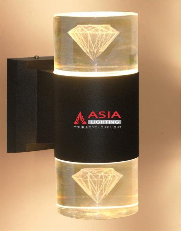 Đèn tường hai đầu kim cương 12w DTU-KC Asia